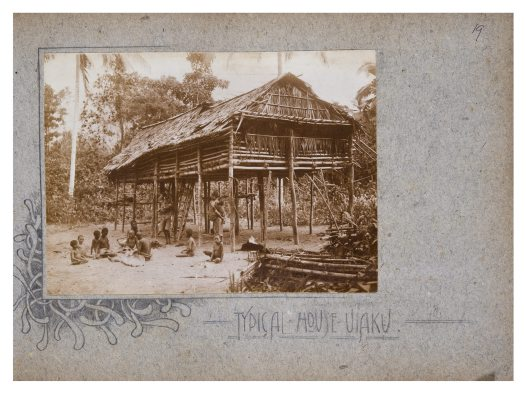 Typical House, Uiaku, Oro Province PNG
