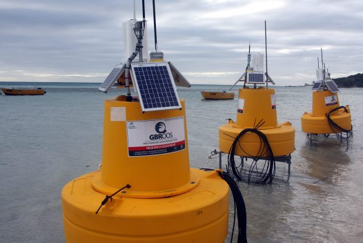 GBROOS sensor buoys ready to install