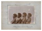 Group portrait of girls from Uiaku, Collingwood Bay PNG