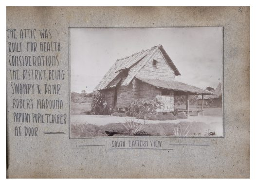 View of Missionary's home, Wanigela, PNG