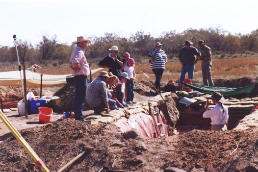 Cuddie Springs excavation site