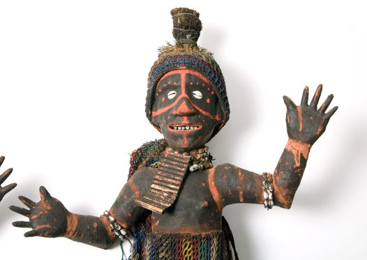 Anthropomorphic figure, Papua New Guinea E88770