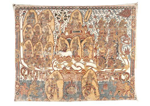 Balinese Painting: E74163