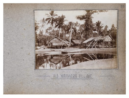 Old Wanigera Village, Collingwood Bay, PNG