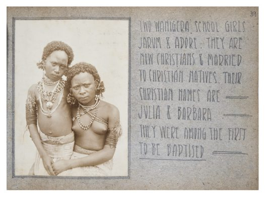 Jarum and Adore, Collingwood Bay, PNG