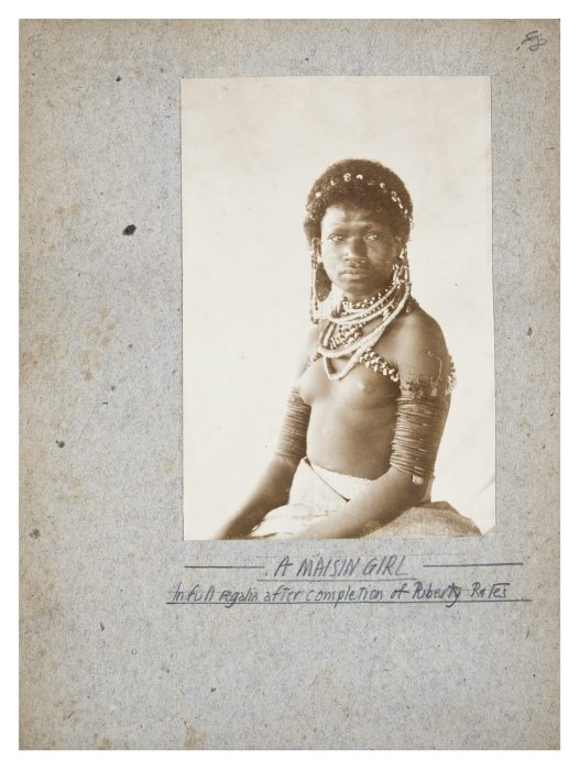 A Maisin girl, Collingwood Bay, PNG