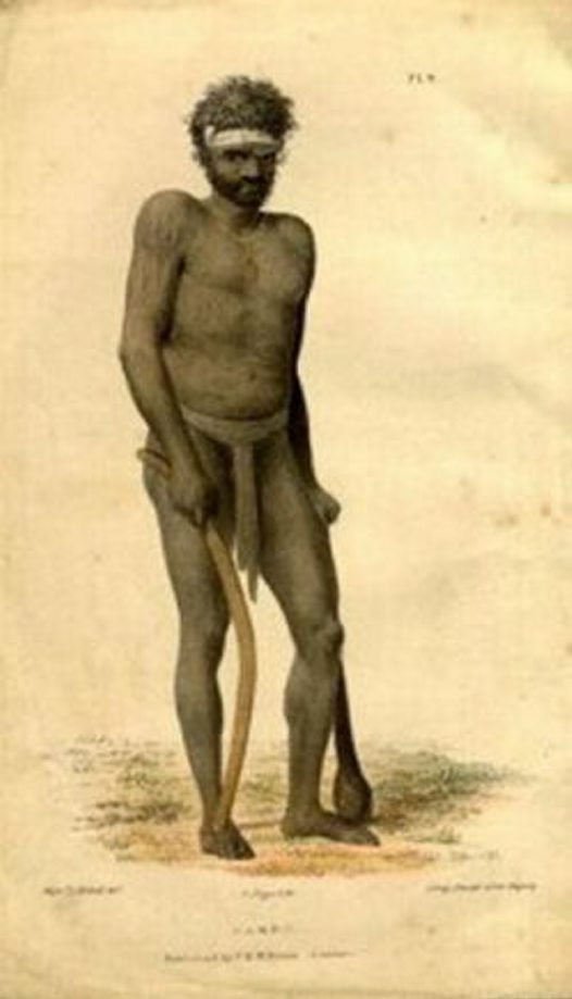 Aboriginal man Combo of Bogan River 1836