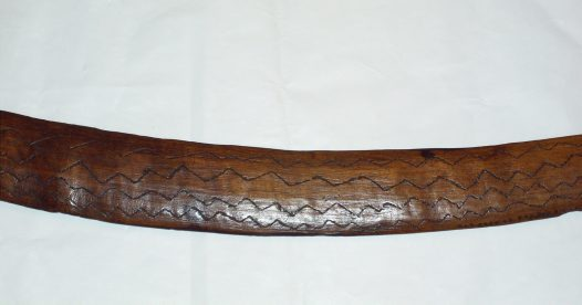 Aboriginal Sword: Detail