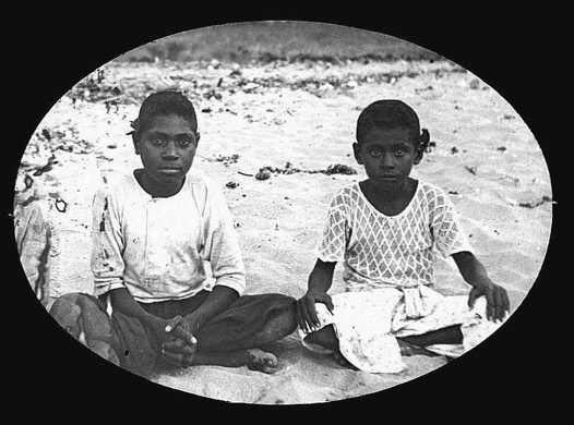 Leo and George, Mer (Murray Island) Torres Strait 1907