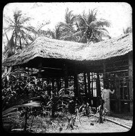Bowd's home on Mer (Murray Island) Torres Strait 1907