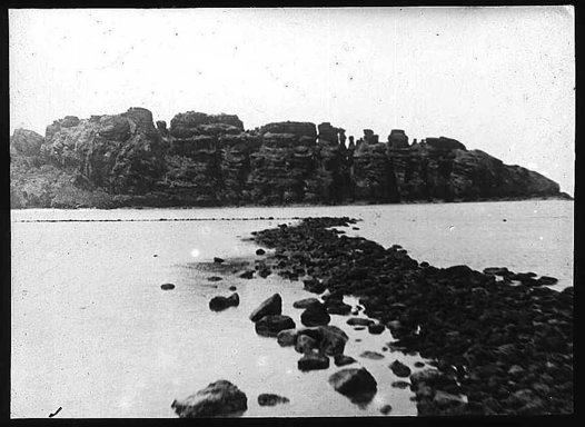 Waier Island view from Mer (Murray Island) Torres Strait 1907