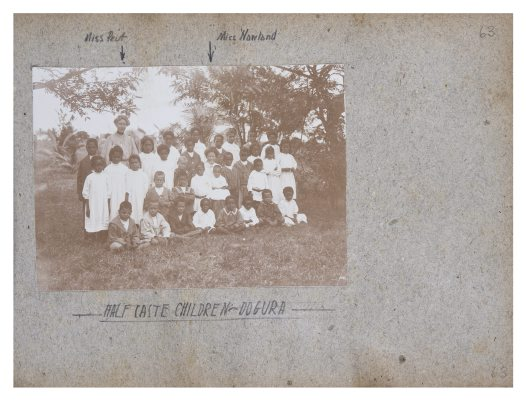 School group, Dogura, Collingwood Bay, PNG