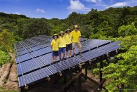 Lizard Island Research Station's 30 kW solar array