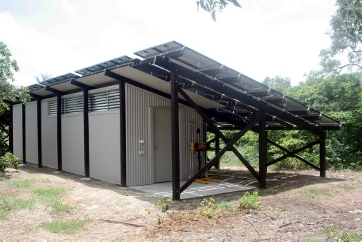 Lizard Island Research Station solar power plant