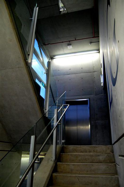 Collections & Research Building, staircase