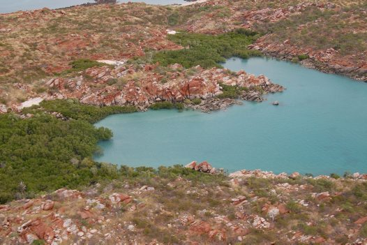 Kimberley Islands Survey, rugged terrain