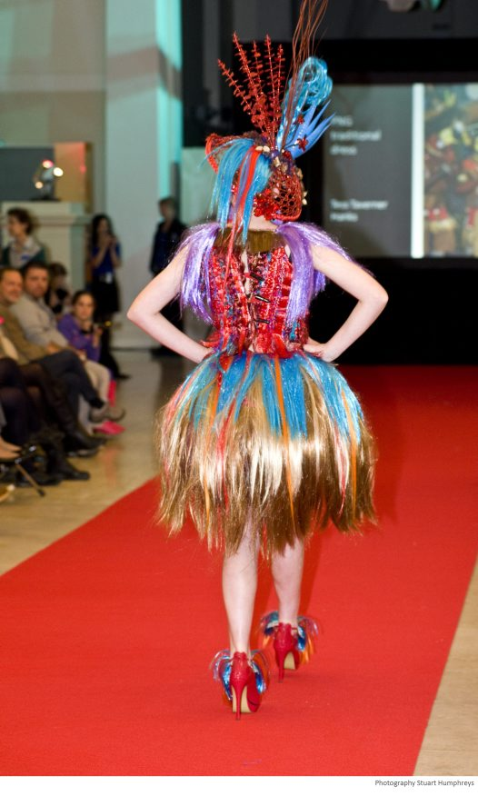 FLW 2011 Winner & Best Hat, Secondary School: Tess (back)