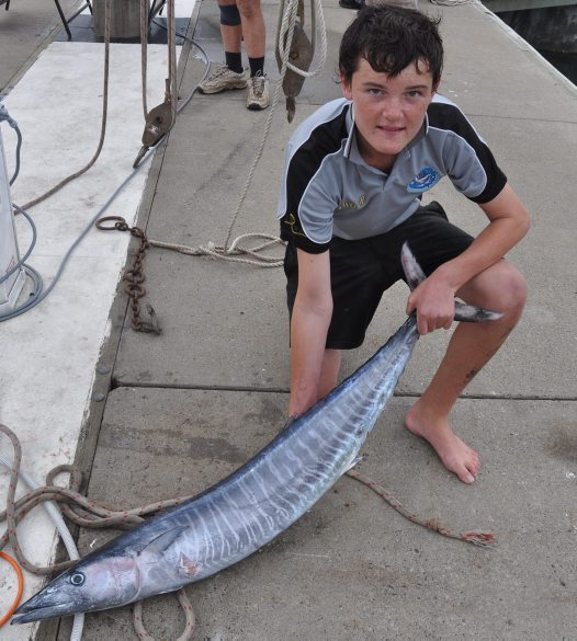 Wahoo caught off Port Stephens