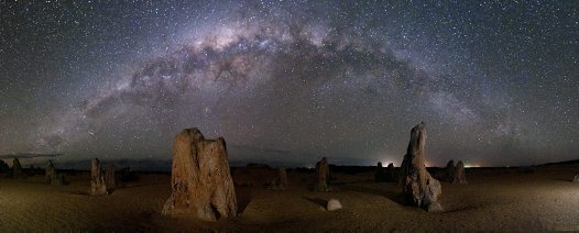 Eureka Prize: The Pinnacles and The Milky Way