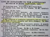 Scott donations listed in the Sydney Morning Herald 1866