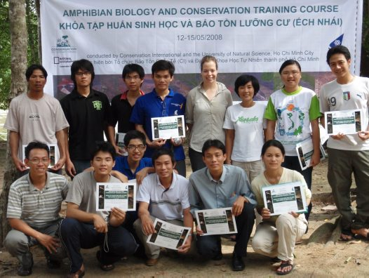 Amphibian training course