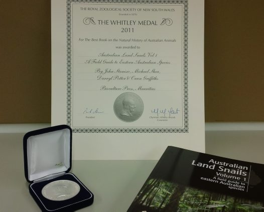The Whitley Medal 2011 #1