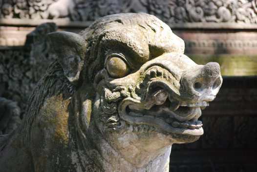 Temple of Death, Ubud: Stone Carving B