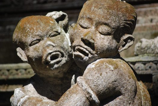 Temple of death ubud stone carving d australian museum