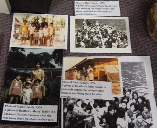 Photos of Vietnamese refugees - 1970s