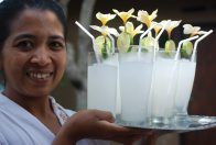 In Balinese Kitchen: Welcome Drink