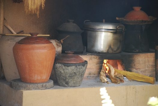 In Balinese Kitchen: A Stove