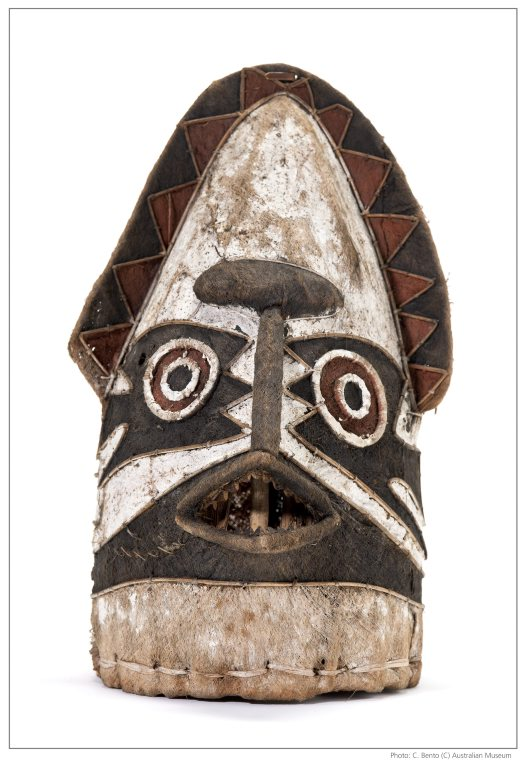 Eharo mask from Papua New Guinea