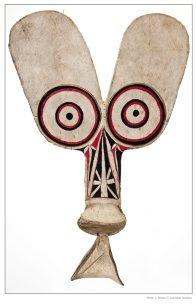 Baining mendaska mask from Papua New Guinea