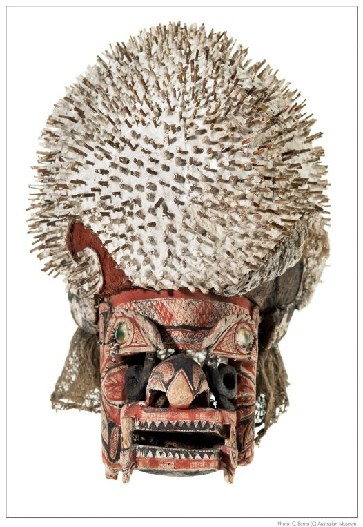 Funerary mask from Papua New Guinea