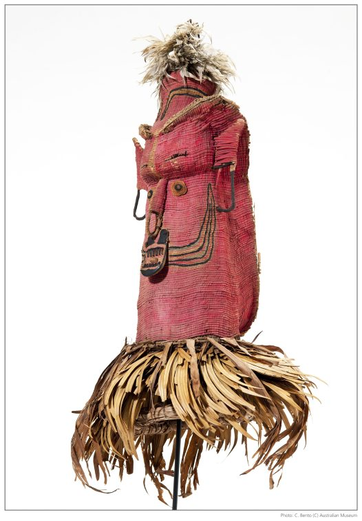 Susu mask from Papua New Guinea