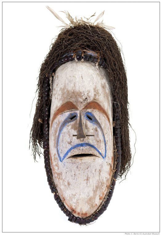 Lor mask from Duke of York Islands