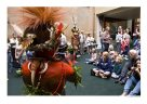 Huli Chief Tom Tika from the Southern Highlands, documents his Australian Museum's experience