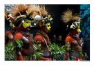Huli delegation from the Southern Highlands, Papua New Guinea