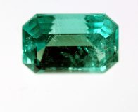 Faceted emerald, Torrington, New South Wales