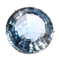 Topaz with blue zoning, 185 ct, Oban, New South Wales