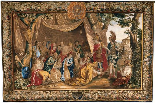 Alexander & family of Darius Tapestry