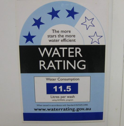 water rating scheme