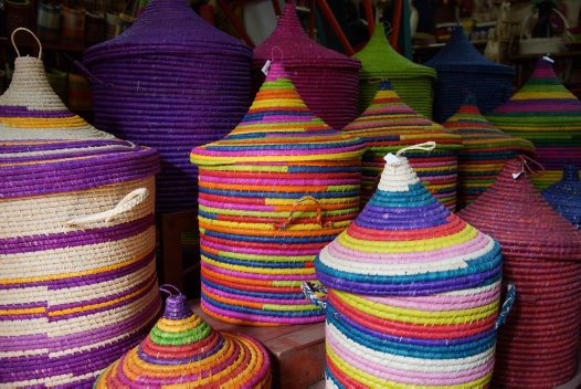 Madagascar 2012 - Raffia baskets