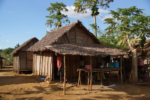Madagascar 2012 - Village house
