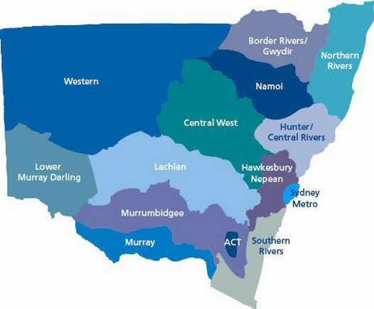 NSW Catchment Areas