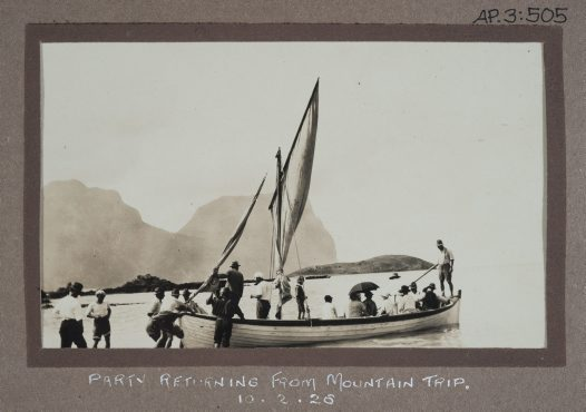 1926 field trip to Lord Howe Island #2