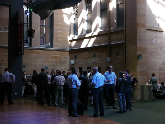 Morning tea - AAWHG Wildlife Management Forum 2012 #01
