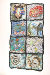 Ghost net art, Gur Atkamlu (Sea Blanket)  - E095183 #1