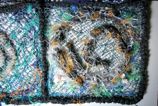 Ghost net art, Gur Atkamlu (Sea Blanket)  - E095183 #13