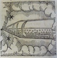 Arabian comet from Lycosthenes' Portents (1557)